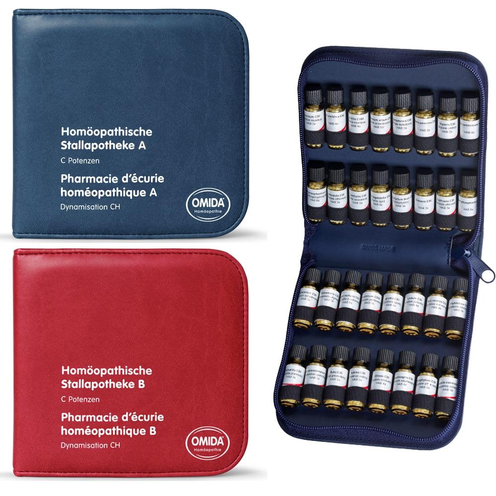 Homöopathische Stallapotheke A Und B Mit 32 Einzelmittel